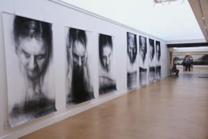 Title:  Betrayal  & Denial and Martyrs & Sacrifices series, Medium:  Charcoal drawings on paper. Dimensions:  1.5 m x 2.3 m each Date:  2013