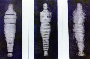 Medium:  Heliogravure etching prints on paper Dimensions:  25 cm x 5 cm (each print) Date:  1997 Price:  R 3000 (for triptych)